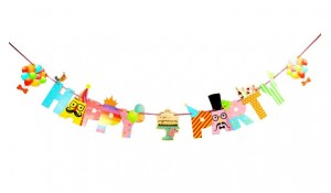 BANER napis HAPPY PARTY 1szt